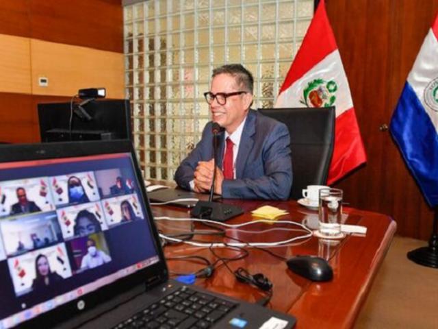 Perú y Paraguay coordinan acciones para reactivar el turismo