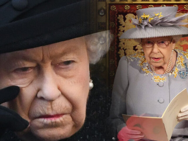 Reina Isabel II reaparece en acto público