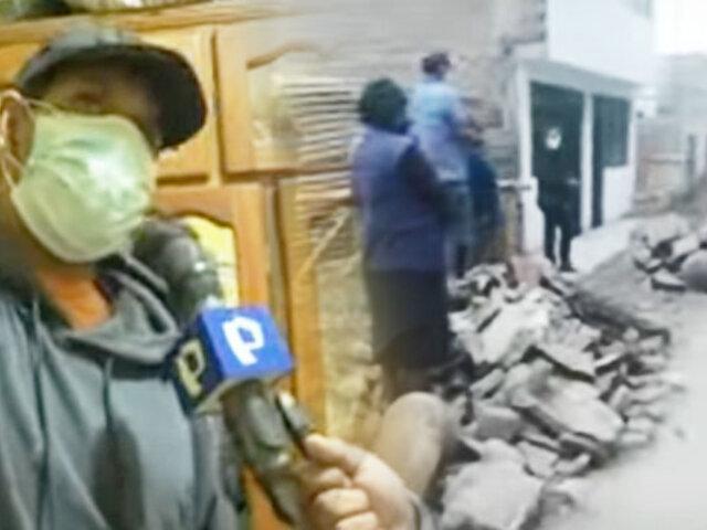 """SJL: vecinos denuncian que están un mes sin agua por obras de """"Sedapal"""""""