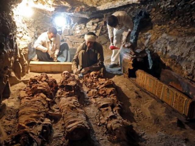 Egipto: hallan 250 tumbas de más de 4 mil años cavadas en una montaña