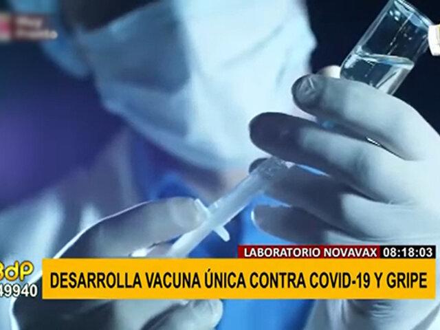 ¡Buenas noticias! Novavax obtiene resultados positivos en vacuna contra la COVID-19 y la gripe