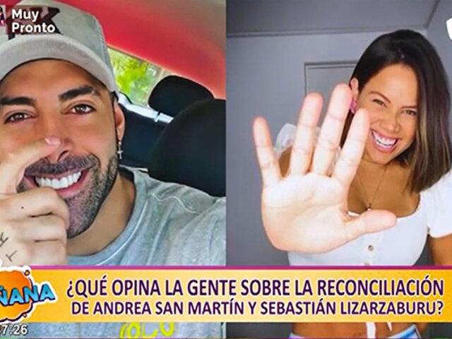 La parejita del momento: así fue la reconciliación de Andrea San Martín y Sebastián Lizarzaburu