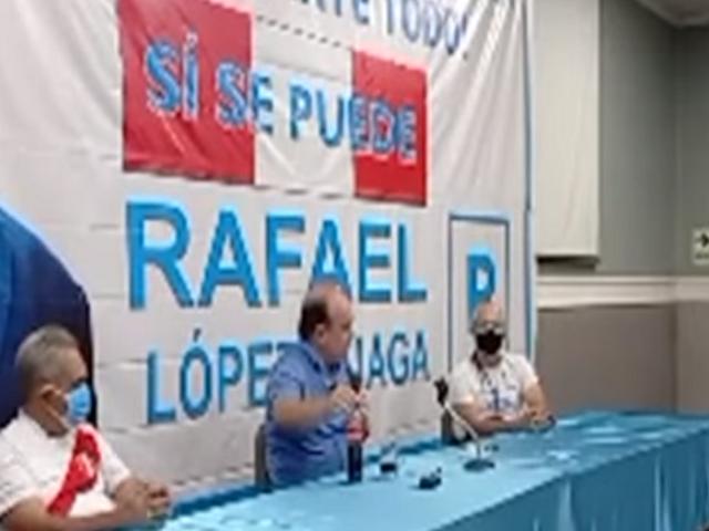 """López Aliaga sobre Pedro Castillo: """"Se hace la víctima, que sea más hombrecito"""""""