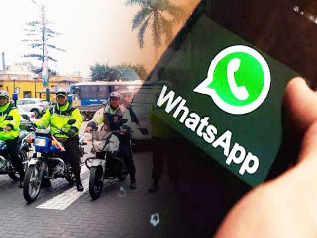 Barranco: vecinos podrán realizar denuncias virtuales por WhatsApp
