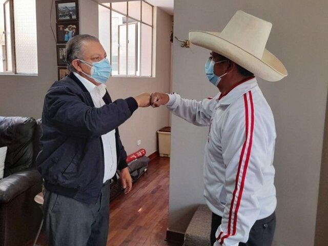 Frente Amplio: Marco Arana suscribió acuerdo político con Pedro Castillo