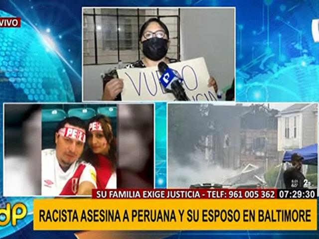 Racista asesina a peruana en EEUU: familia pide ayuda para viajar y repatriar restos
