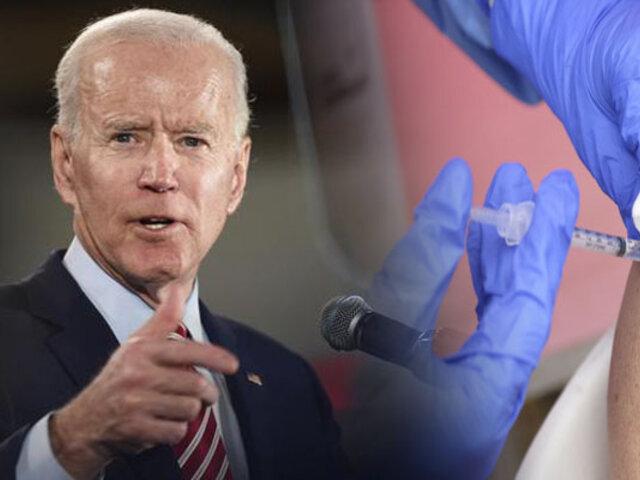 Joe Biden llama a indocumentados para vacunarse