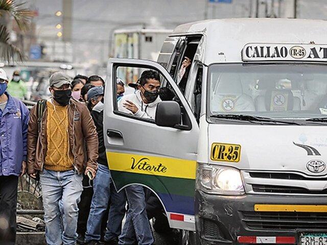 Congreso rechazó proyecto de renovación automática de licencias para empresas de transporte