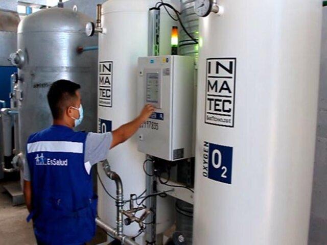 Covid-19: inician trabajos para instalación de dos plantas de oxígeno medicinal en Tarapoto