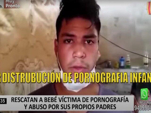 Rescatan a bebé víctima de pornografía y abuso por sus propios padres