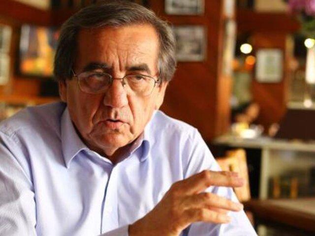 """Jorge del Castillo sobre el apoyo de su hijo a Pedro Castillo: """"Debería renunciar al APRA"""""""