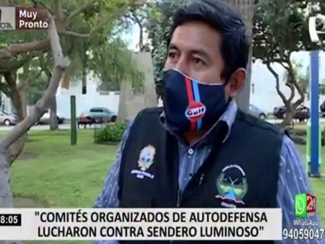 """Presidente del Comité Autodefensa del VRAEM: """"Ronderos no lucharon contra Sendero Luminoso"""""""