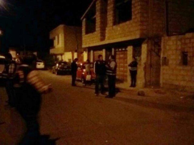 Enfrentamiento entre policías y un grupo de ciudadanos dejó dos heridos en el Cusco