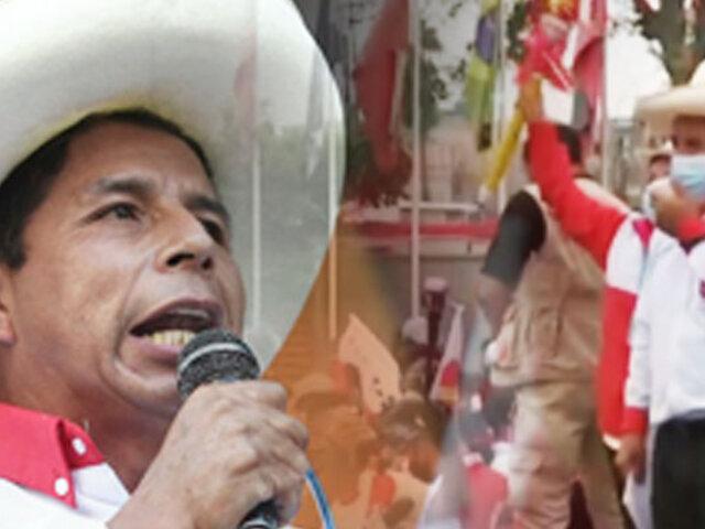 """Pedro Castillo: """"A mí no me preocupan las encuestas, yo no estoy sediento por el poder"""""""