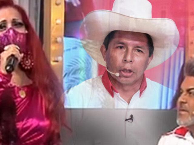 """Monique Pardo presenta su tema """"Pedro, no te corras"""" en Porque Hoy es Sábado con Andrés"""