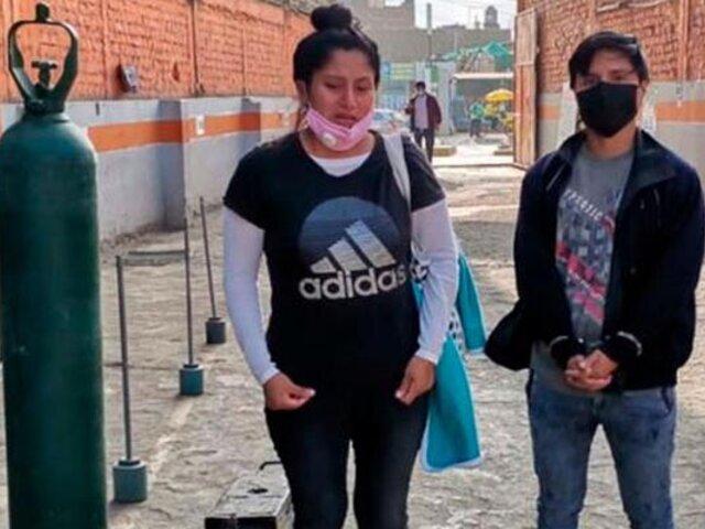 La Libertad: jóvenes transportaban más de 30 kilos de marihuana en un tanque de oxígeno