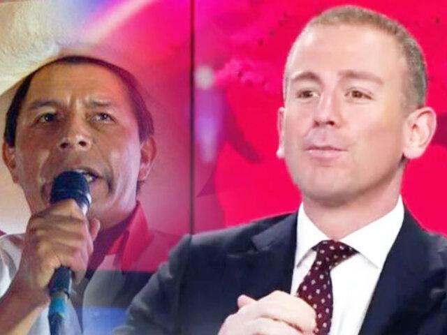 Periodista Diego Acuña destapa las incongruencias en el plan de Pedro Castillo