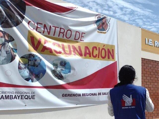 Contraloría denuncia presunta desaparición de 8 vacunas anticovid en Lambayeque