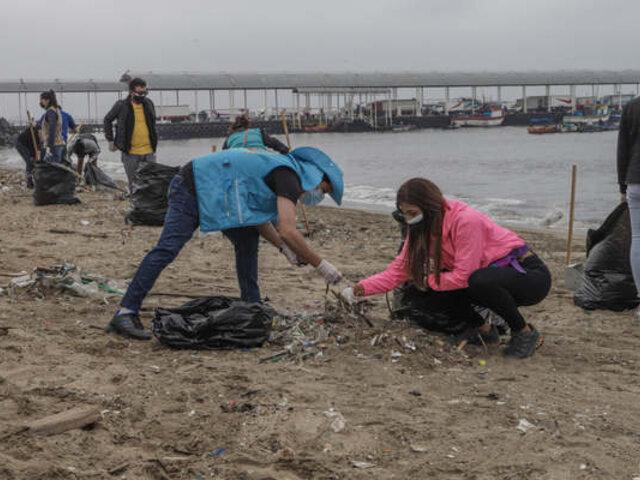 Áncash: jornada de limpieza permitió recoger más de una tonelada de residuos en playa