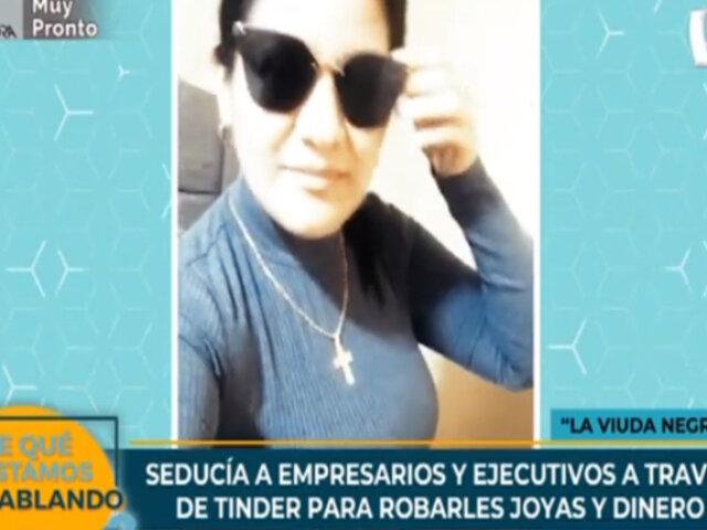 Cae la 'viuda negra': mujer captaba a hombres por Tinder para robarles sus objetos de valor