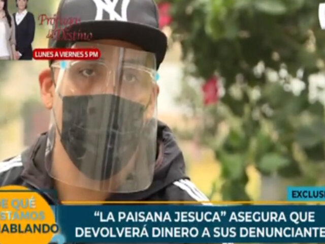 'La paisana Jesuca' devolverá dinero a sus denunciantes tras ser acusado de estafa