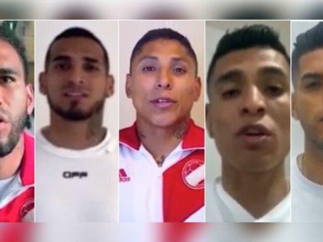 """Selección Peruana: Jugadores lanzaron campaña """"Ponte la camiseta"""""""