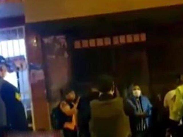 Los Olivos: intervienen a 60 personas que participaban en una fiesta en pleno toque de queda