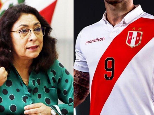 """Bermúdez sobre uso de camiseta peruana en campaña: """"Todos pueden usarla"""""""