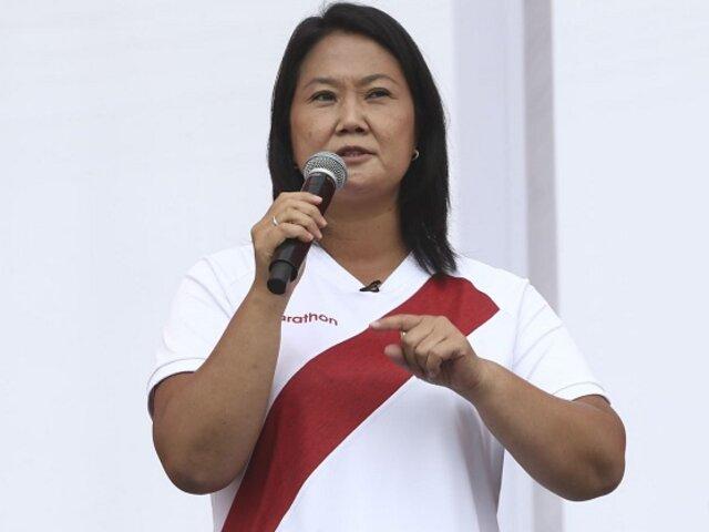 Keiko Fujimori presentó al equipo técnico que colaboró con su plan de Gobierno
