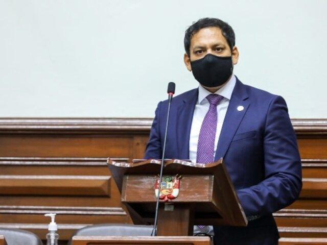 Presidente de la Comisión de Constitución defiende la instalación de cuarta legislatura