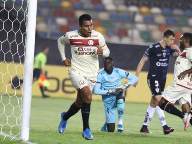 Universitario venció 3-2 a Independiente del Valle y sumó su primer triunfo en la Libertadores [VÍDEO]