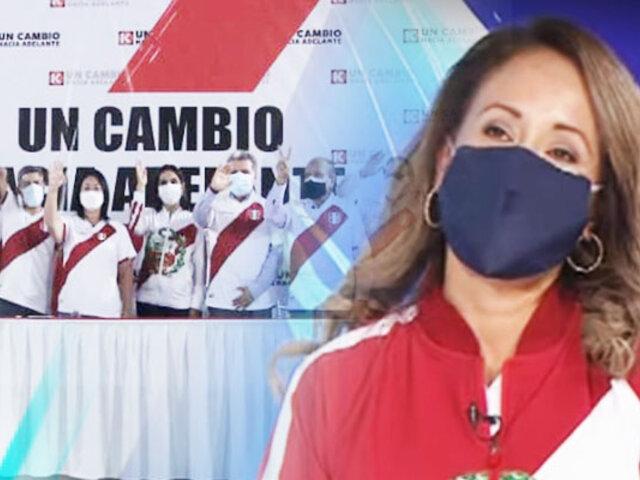 """Elizabeth Zea sobre equipo técnico de Keiko Fujimori: """"el objetivo es reconstruir el país"""""""