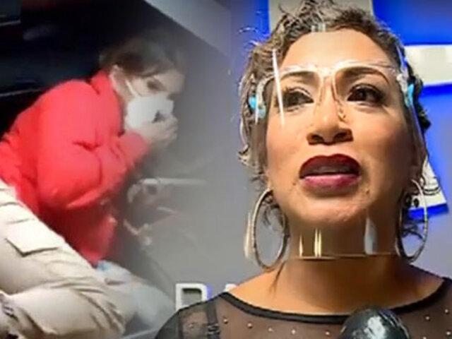 Paula Arias aconseja a Yahaira Plasencia por fiesta COVID