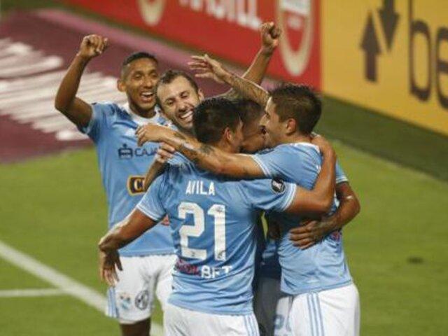 Copa Libertadores: Sporting Cristal venció 2-0 a Rentistas de Uruguay [VÍDEO]