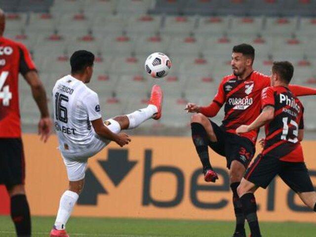 Copa Sudamericana: Melgar cayó 1-0 ante Paranaense y peligra su clasificación a la siguiente ronda [VÍDEO]