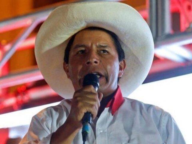 """Pedro Castillo: """"Voy a demostrar a mi patria lealtad, respeto y experiencia"""""""