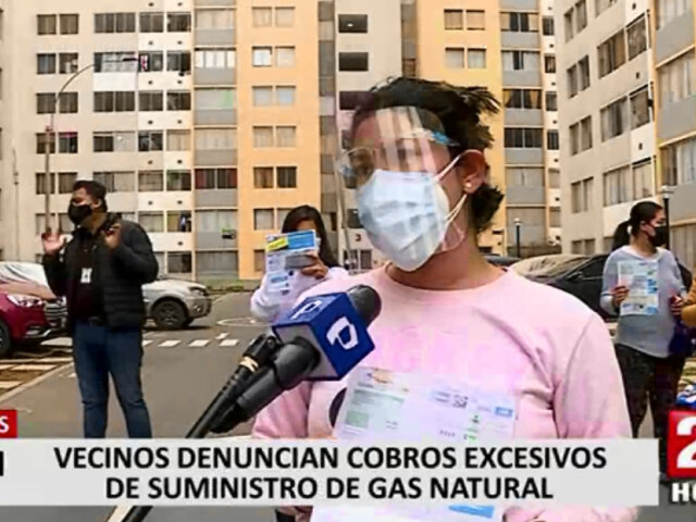 Comas: familias de condominios denuncian cobros excesivos en sus recibos de gas