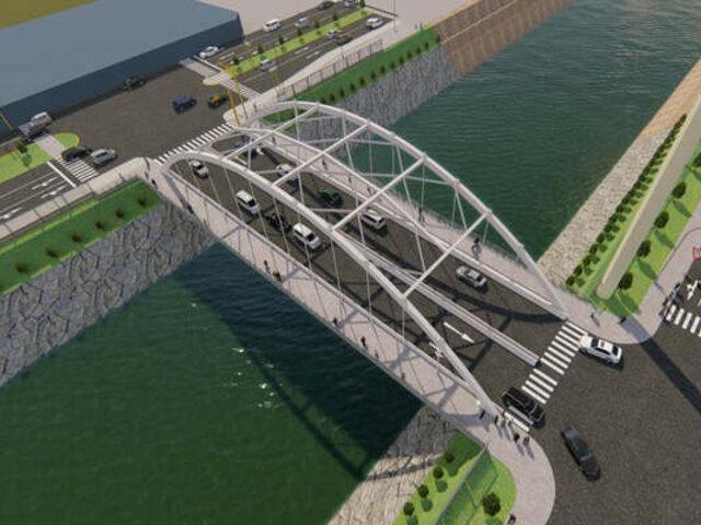 Obra del puente Morales Duárez estaría lista durante la segunda mitad del año