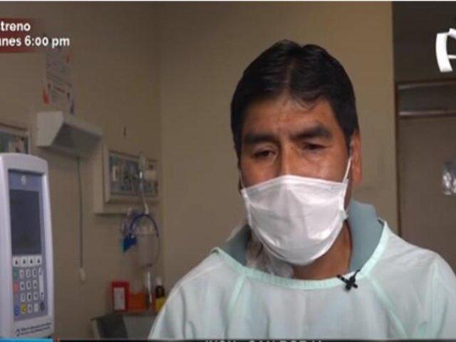 INSN - San Borja: padre dona riñón y salva la vida de su hija adolescente
