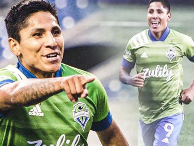 Raúl Ruidíaz anota otra vez en la MLS en el Seattle Sounders vs. Atlanta United