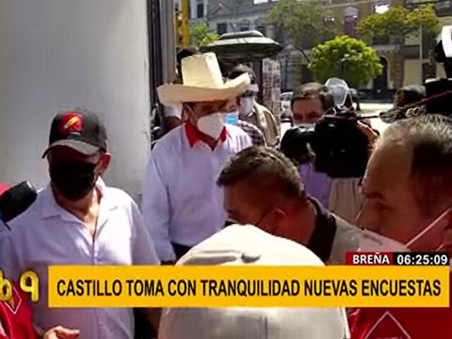 """Pedro Castillo se reunió con el movimiento """"Cas nunca más"""" y firmó compromiso"""