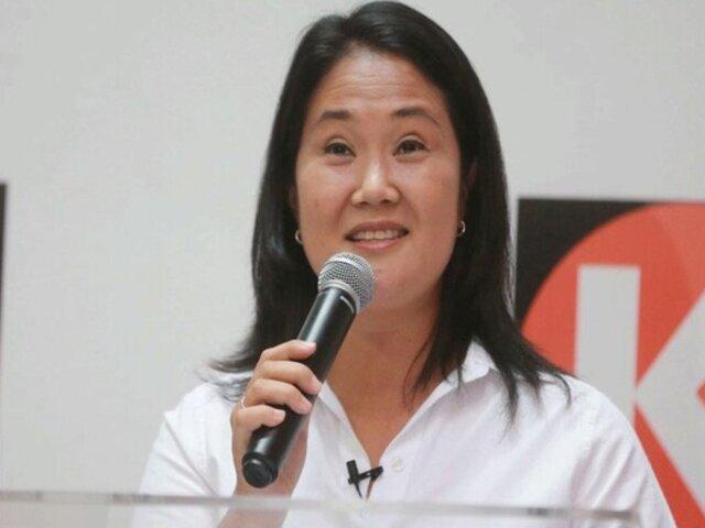 Keiko Fujimori ofrece un Gabinete de ancha base