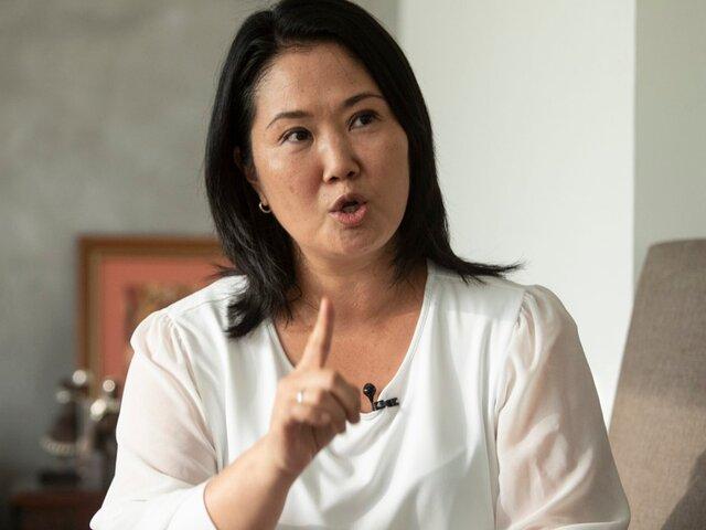 """Ministro Sánchez saludó expresiones de Keiko Fujimori: """"Ahora hay que pasar a la acción"""""""