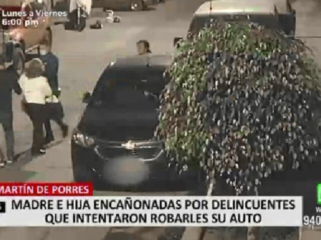 Seguro de timón impidió que ladrones se llevaran auto en SMP