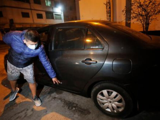 SMP: taxista de aplicativo salvó de morir baleado por pasajero en estado de ebriedad