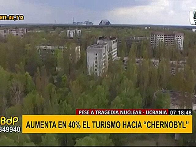 Pese a tragedia nuclear: Chernobyl se convierte en atractivo turístico