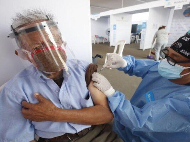 COVID-19: hoy se reinicia aplicación de segunda dosis de vacunas en Lima y Callao