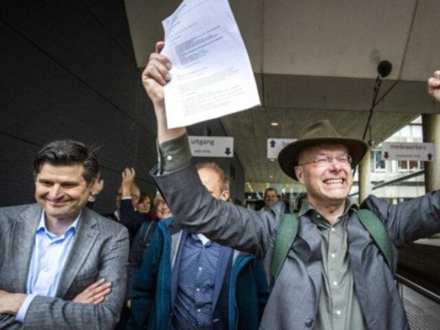 Países Bajos: tribunal ordena a petrolera Shell reducir emisiones de CO2
