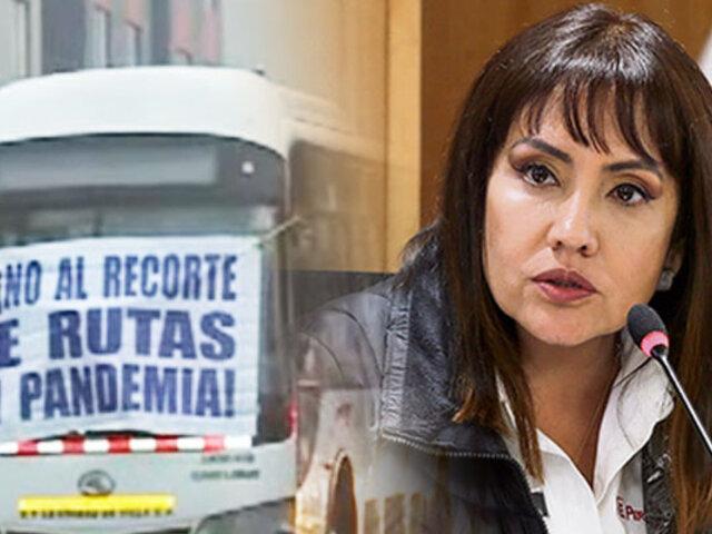 """ATU sobre paro de transportistas: """"No hay recursos en el Estado en este momento"""""""