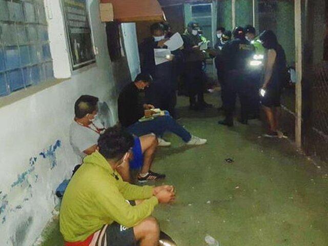 Chiclayo: al menos 20 jóvenes fueron intervenidos jugando  fulbito en pleno toque de queda